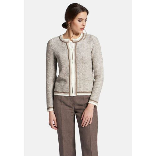 Cardigan encolure ras-de-cou - PETER HAHN - Shopsquare