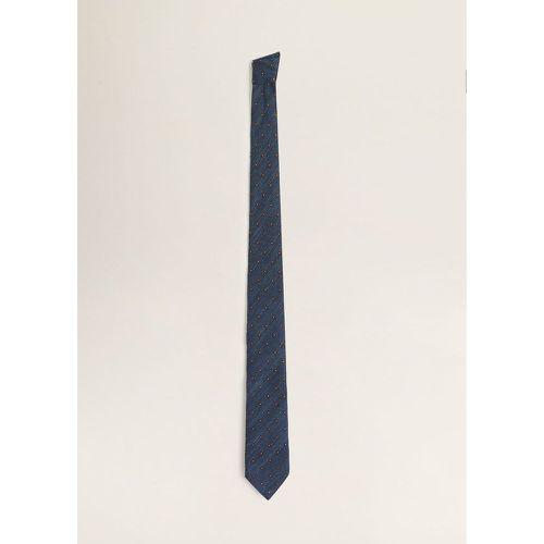 2c3385490e54 Cravate à motif mosaïque - mango man - Shopsquare