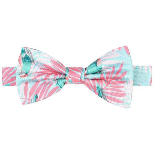 Noeud papillon 100% soie imprimé tropical - TIE RACK - Shopsquare