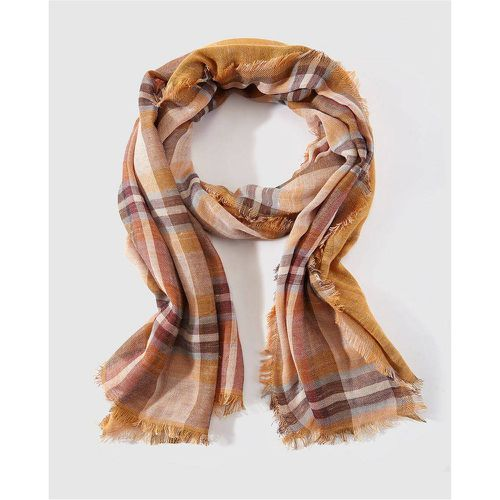 Foulard en coton à carreaux - SOUTHERN COTTON - Shopsquare