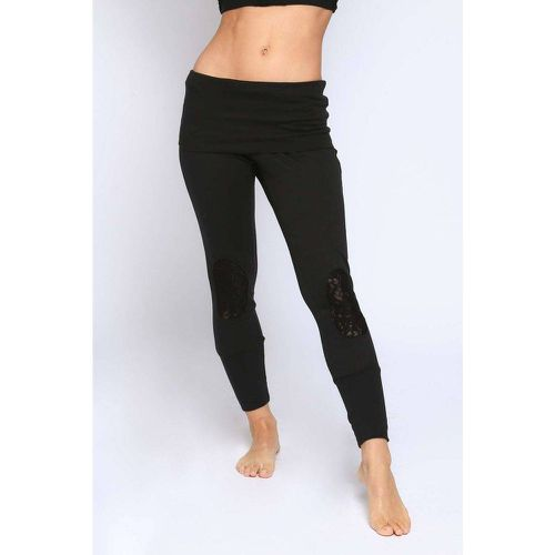 Pantalon Coton Dentelle - BODY ONE - Modalova