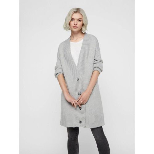 Cardigan en maille Long Loose Fit - NOISY MAY - Modalova