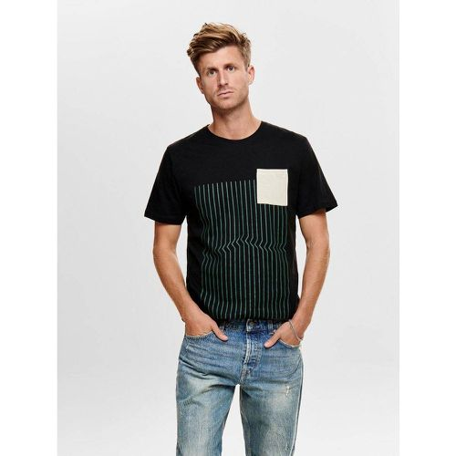 T-Shirt Imprimé - ONLY ET SONS - Shopsquare