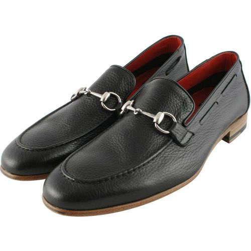 Mocassins cuir PRESTON - EXCLUSIF PARIS - Modalova