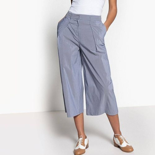Jupe culotte large à fines rayures - LA REDOUTE COLLECTIONS - Shopsquare