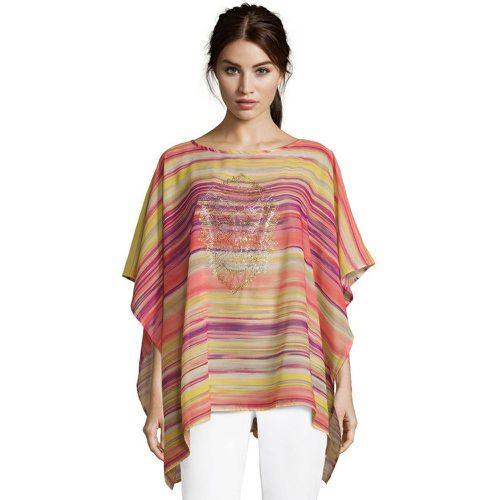 Poncho basique à rayures - Betty Barclay - Shopsquare