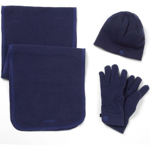 Bonnet écharpe gants ESSENTIALS II - Craghoppers - Shopsquare