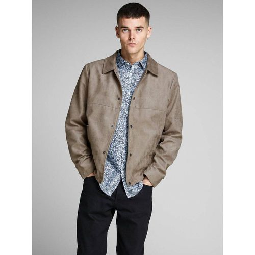 Veste Veste daim synthétique - jack & jones - Modalova