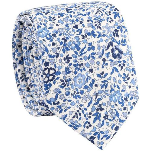 Cravate fleurs Liberty Katie&Millie 100% coton - TIE RACK - Shopsquare