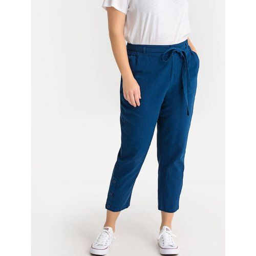 Pantalon droit lin mélangé - LA REDOUTE COLLECTIONS PLUS - Shopsquare