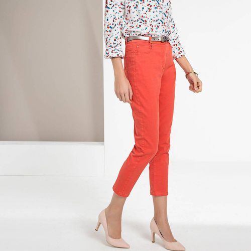 Pantalon droit 7/8ème, coton stretch - Anne weyburn - Shopsquare