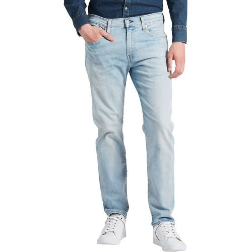 Jean 502 Regular Taper Green Eggs en coton stretch clair légèrement délavé - Levi's - modalova