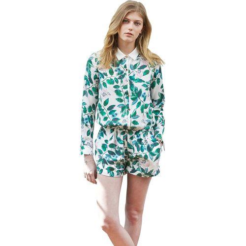 4461709b65 Combi short combinaison chic et habillée imprimé floral ceinture élastique  - SUNDAY LIFE - Shopsquare