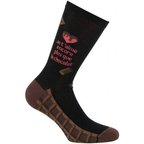 Chaussettes Chocolat Made in France - ACHILE - Shopsquare