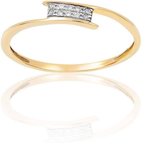 Bague Or 375/1000 Oxyde - CLEOR - Shopsquare