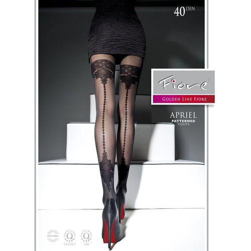 Collant style bas en voile 40 deniers APRIEL - FIORE - Shopsquare 70d41d623f4