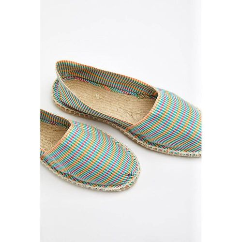 Espadrilles en toile Multi Aztèque Ecru - Made in France - 1789 CALA - Shopsquare
