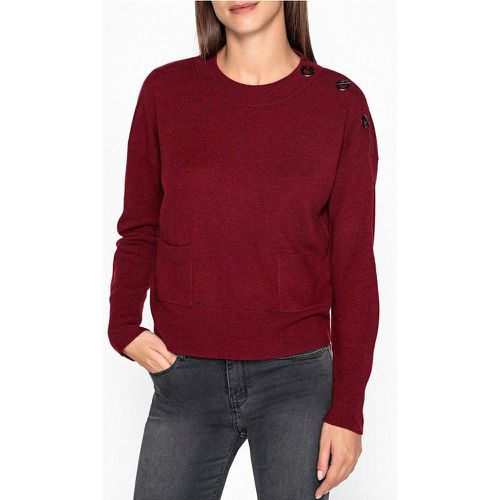 Pull col rond, fine maille laine et cachemire AXEL - BERENICE - Shopsquare