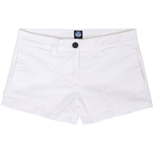 Short En Coton Chino Ajustement Mince - NORTH SAILS - Shopsquare
