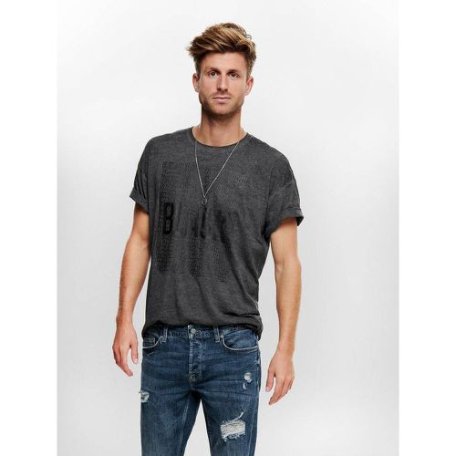 T-Shirt Imprimé - ONLY & SONS - Shopsquare