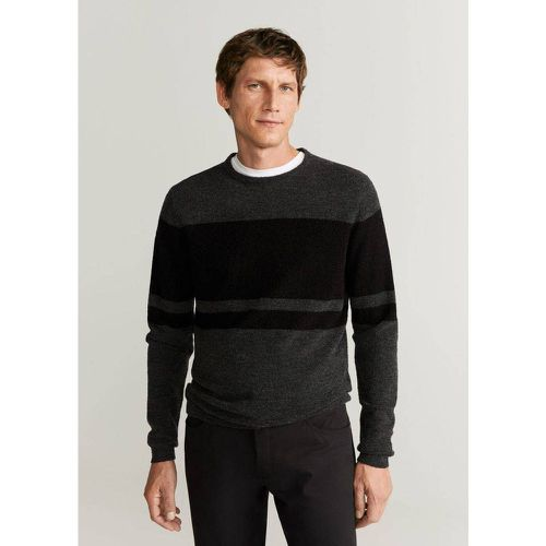 Pull-over color-block - mango man - Modalova