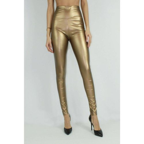 Leggings brillant gold - KEBELLO - Shopsquare