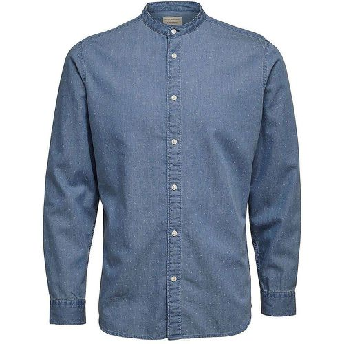 Chemise col mao - SELECTED - Shopsquare