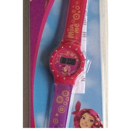 Mia & Me - Montre digitale LCD avec strass Mia - JOY TOY - Modalova
