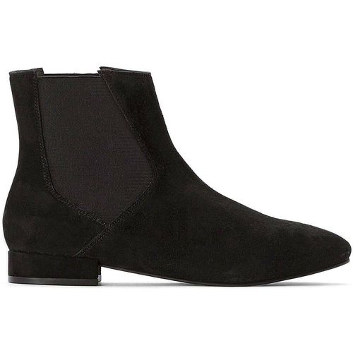 Boots cuir Chelsea - LA REDOUTE COLLECTIONS - Modalova
