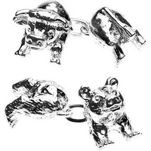 Boutons de manchette, Animaux, Bull and Bear - CHRISTOPHER SIMPSON - Shopsquare