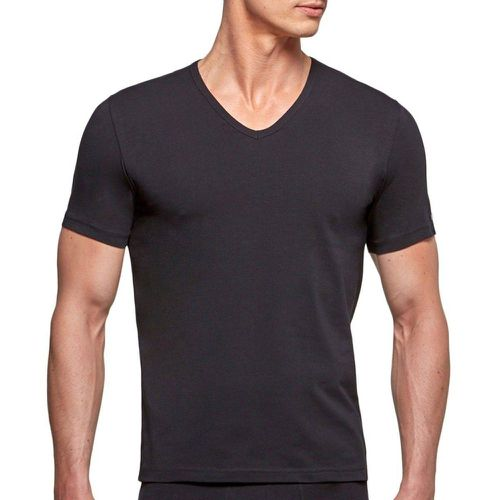 T-shirt homewear coton stretch Essentials - IMPETUS - Modalova
