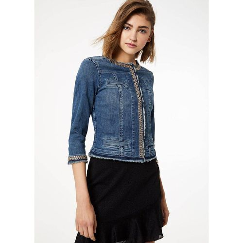 Veste en jean avec applications - LIU JO - Shopsquare
