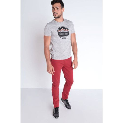 Pantalon chino slim - BONOBO - Shopsquare