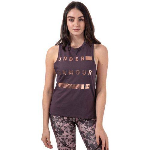 Débardeur Linear Wordmark Muscle - Under Armour - Shopsquare