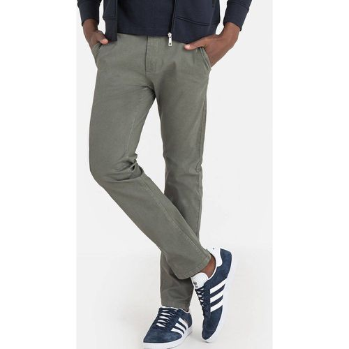 Pantalon chino coupe slim - LA REDOUTE COLLECTIONS - Shopsquare