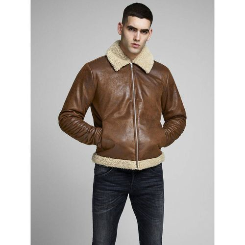 Veste légère Aviateur simili - jack & jones - modalova