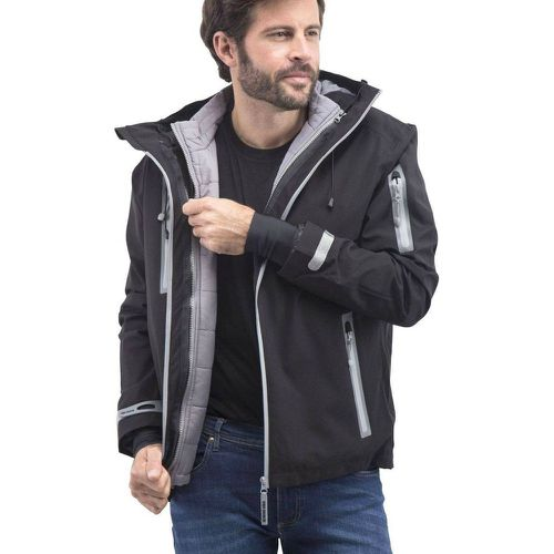 Blouson impermeable capuche - FASHION CUIR - Shopsquare