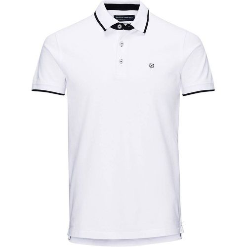 Polo uni, manches courtes - JACK AND JONES PREMIUM - Shopsquare