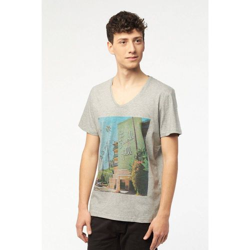 T SHIRT COL V JERSEY - BEST MOUNTAIN - Shopsquare