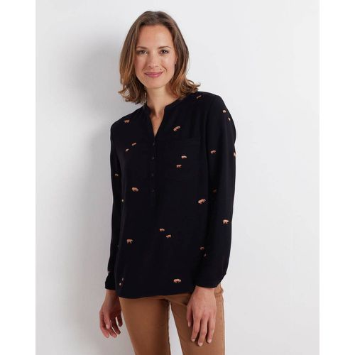 Blouse Broderies Vaches - MISE AU GREEN - Shopsquare