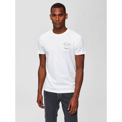 T-Shirt Imprimé - - Selected Homme - Shopsquare