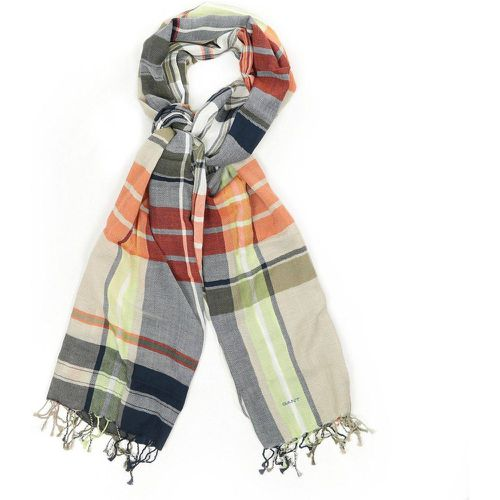 Foulards Big Check Scarf - Gant - Shopsquare