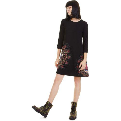 Robe Mara trapèze courte manche 3/4 - Desigual - Shopsquare