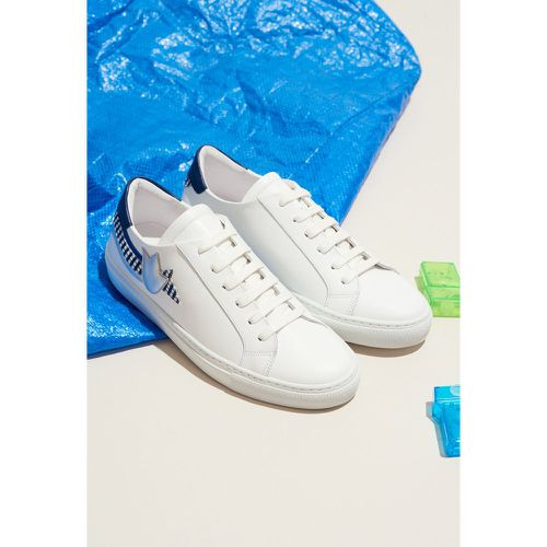 Sneakers blanches tricolores - Claudie Pierlot - Shopsquare