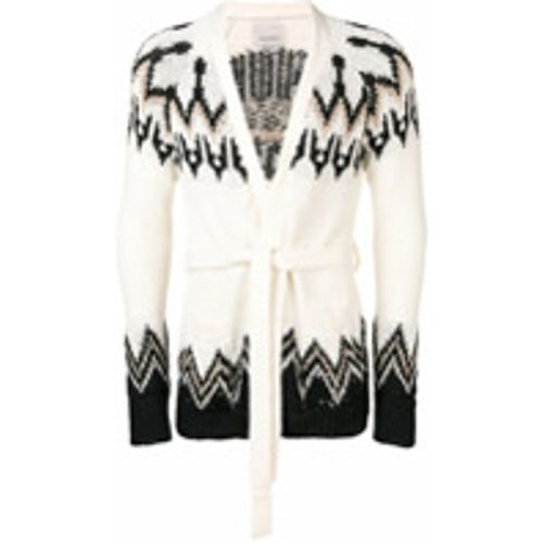White belted cardigan - Laneus - Shopsquare