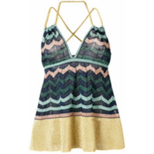 Crisscross straps knitted top - M Missoni - Shopsquare