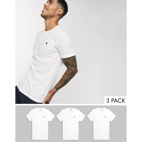 Abercrombie and Fitch - Lot de t-shirts ras de cou - Abercrombie & Fitch - Modalova