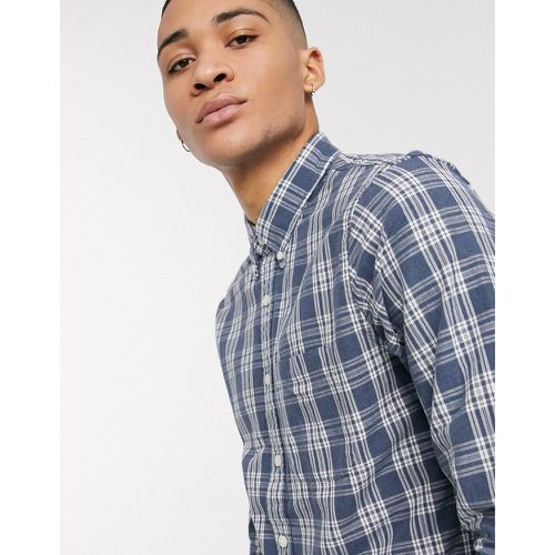 Chemise Oxford à carreaux- - Abercrombie & Fitch - Modalova