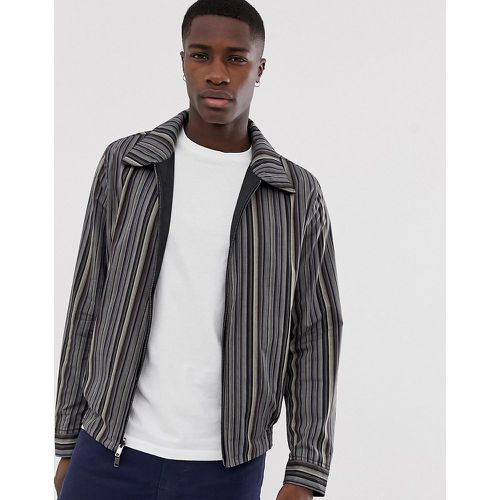 Blouson Harrington réversible - Rayures - ASOS DESIGN - modalova