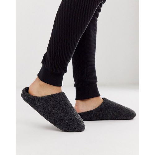 Chaussons à enfiler - chiné - ASOS DESIGN - Modalova